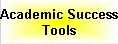 academic success tools button